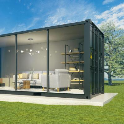 Garden Room Shipping Container Conversion